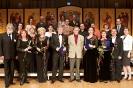 Церемония награждения руководителей хоровых коллективов